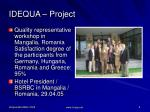 idequa project