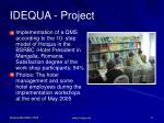 idequa project2