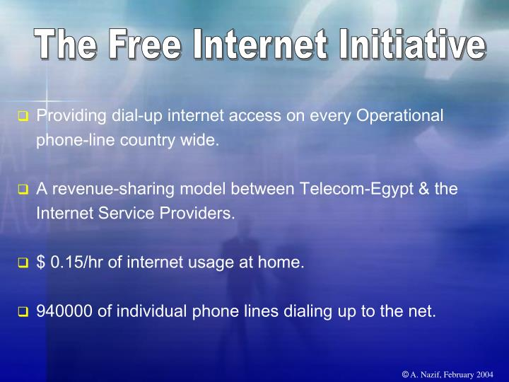 The Free Internet Initiative