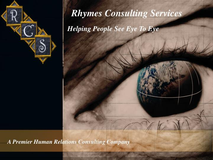 rhymes consulting services n.