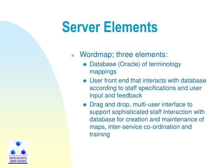 Server Elements