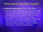 what about guardian angels