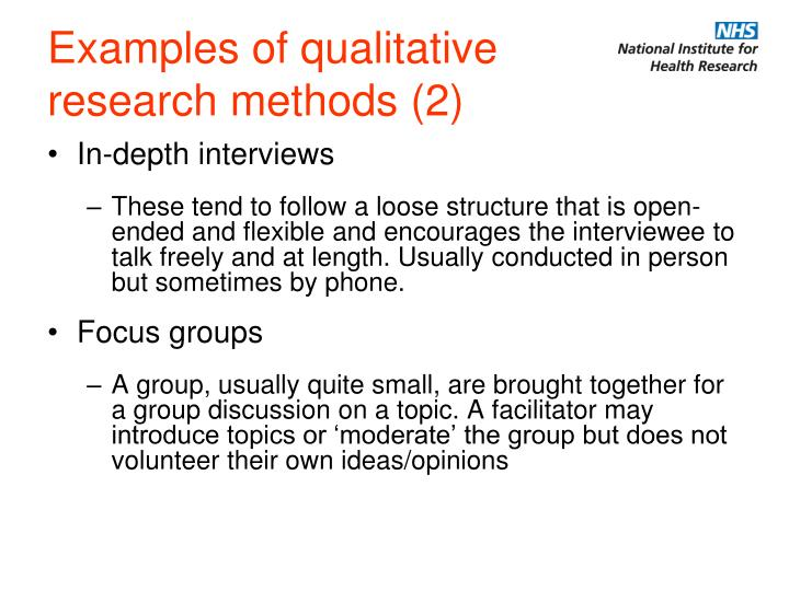 examples of qualitative research topics