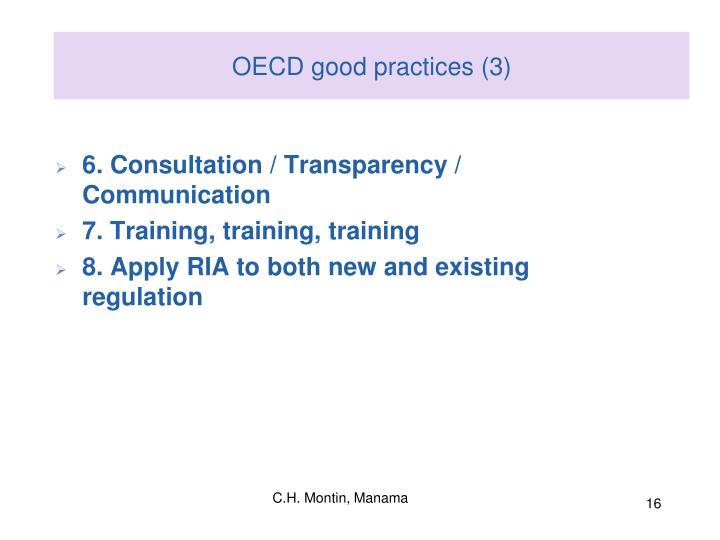 OECD good practices (3)