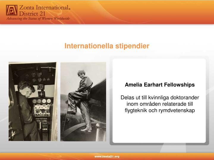 Internationella stipendier