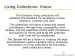 living collections vision