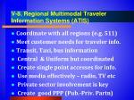 v 8 regional multimodal traveler information systems atis