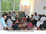 church executive committee and family with thirumeni1