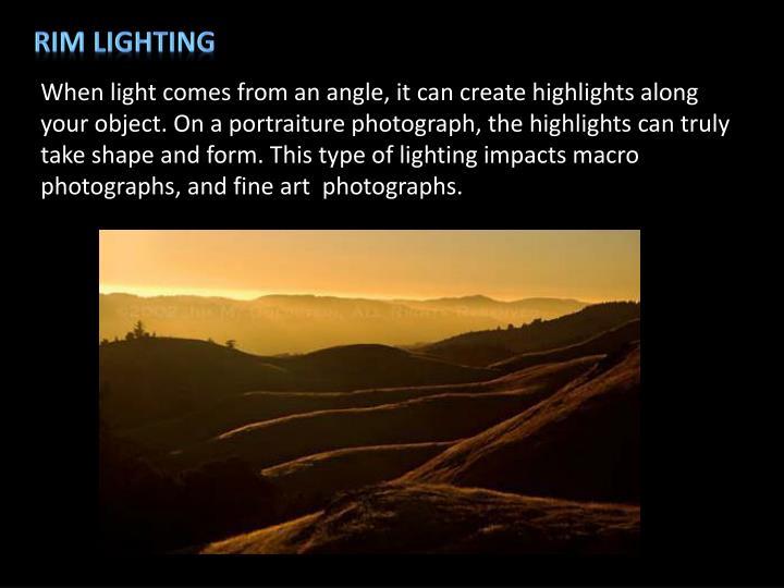 Rim Lighting