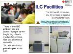 ilc facilities