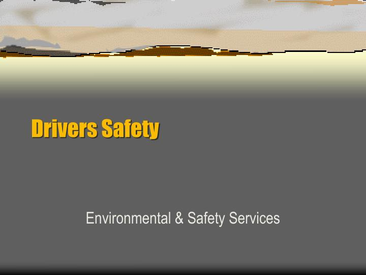 drivers safety n.
