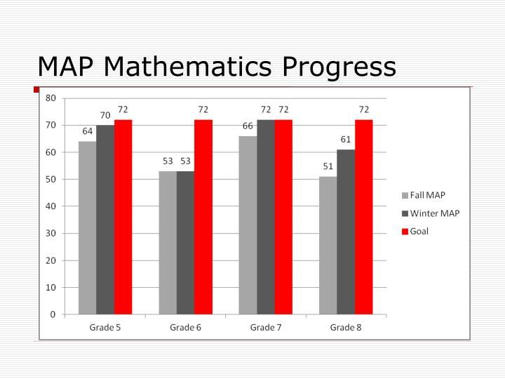 Map mathematics progress