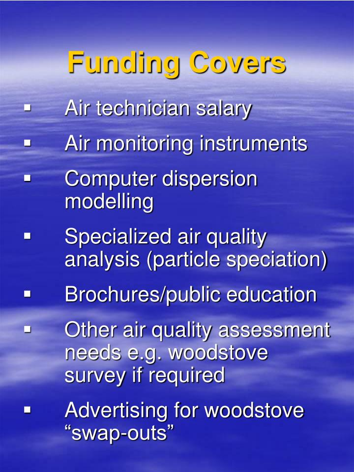 Funding Covers
