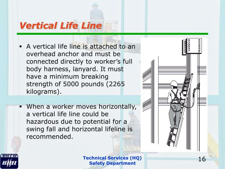 Vertical Life Line