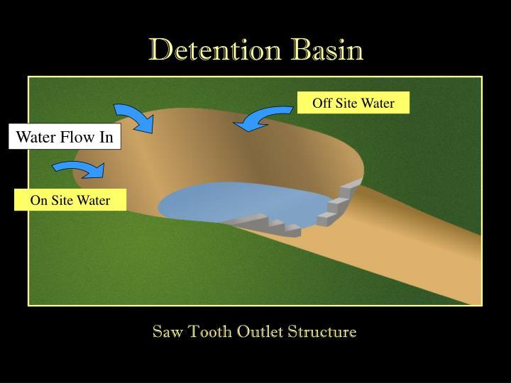Detention Basin