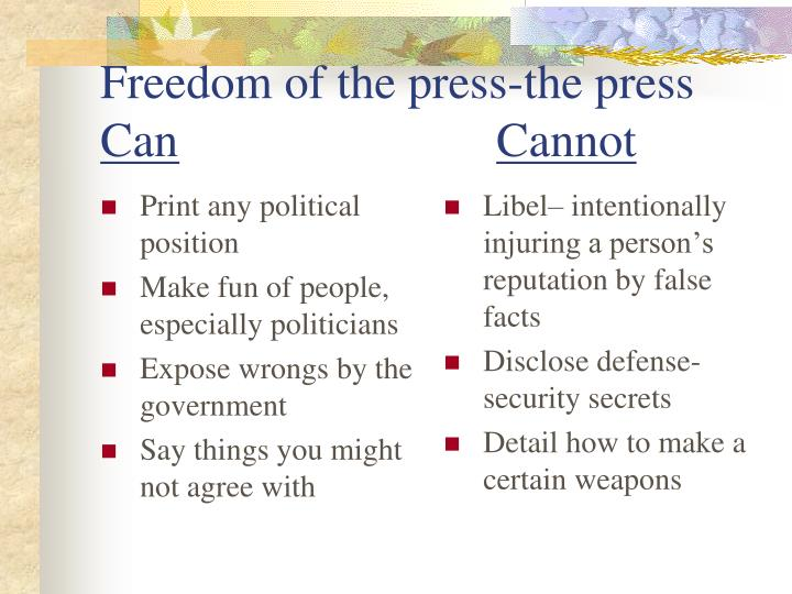 Print any political position