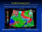 parallel processing con t