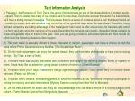 text information analysis