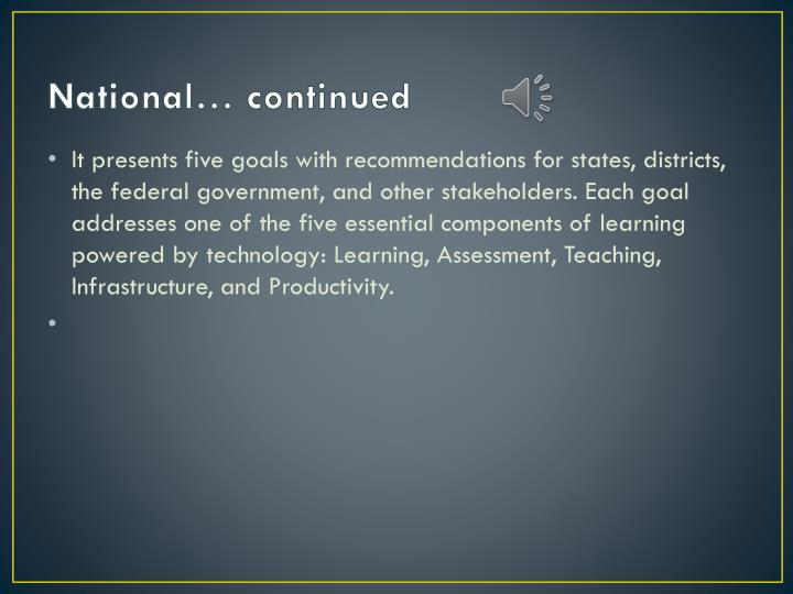National… continued