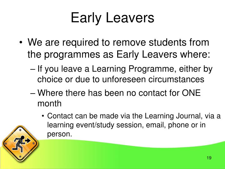 Early Leavers