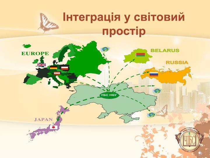Інтеграція у світовий простір