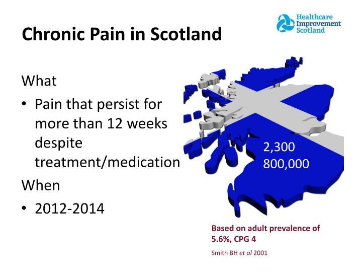 Chronic Pain in Scotland