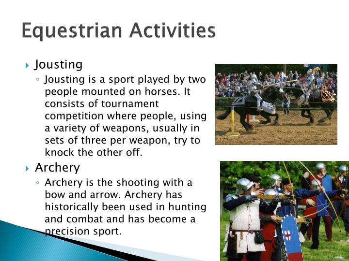 Equestrian Activities