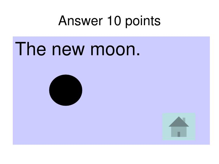 Answer 10 points