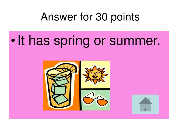 Answer for 30 points