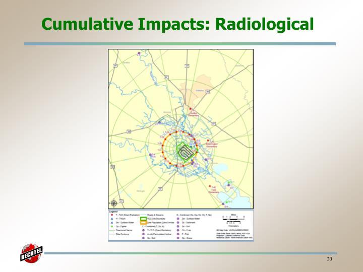Cumulative Impacts: Radiological