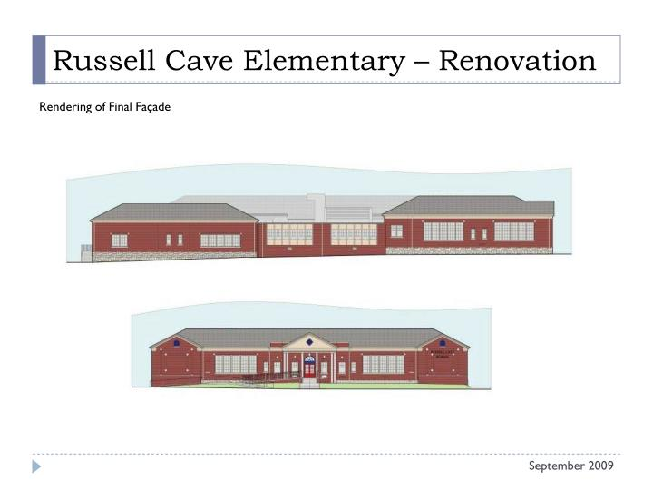 Russell Cave Elementary – Renovation