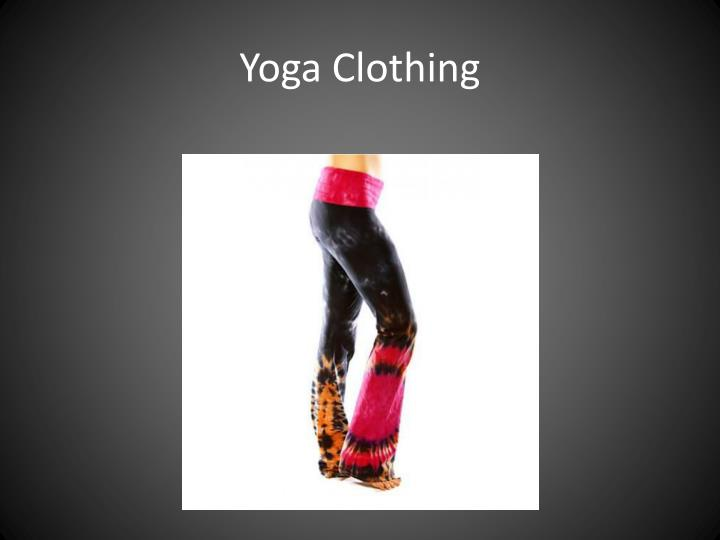 yoga clothing n.