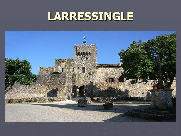 LARRESSINGLE