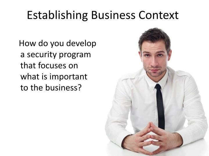 Establishing Business