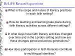 belifs research questions