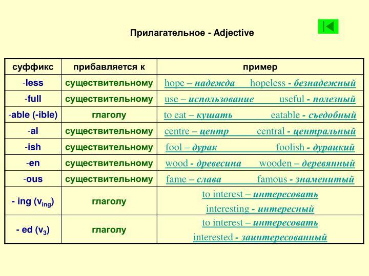 Иностранные заимствования в лексике английского языка