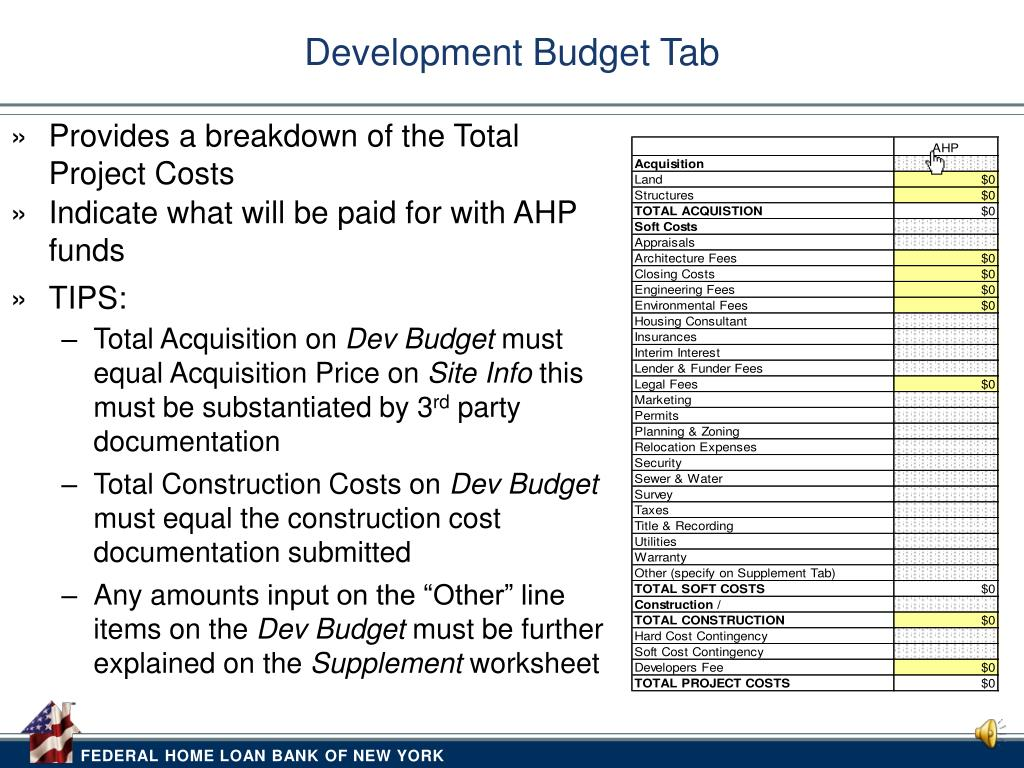 PPT - Overview of the Affordable Housing Program Owner