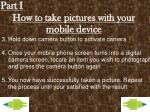 how to take pictures with your mobile device1