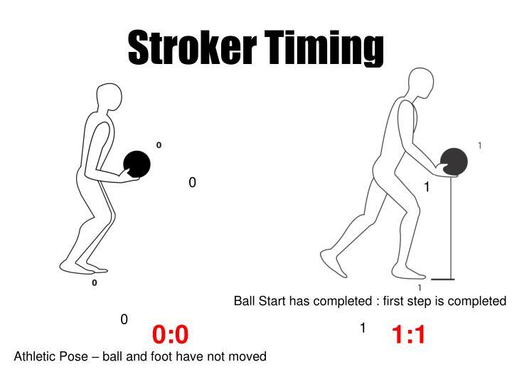 Stroker timing