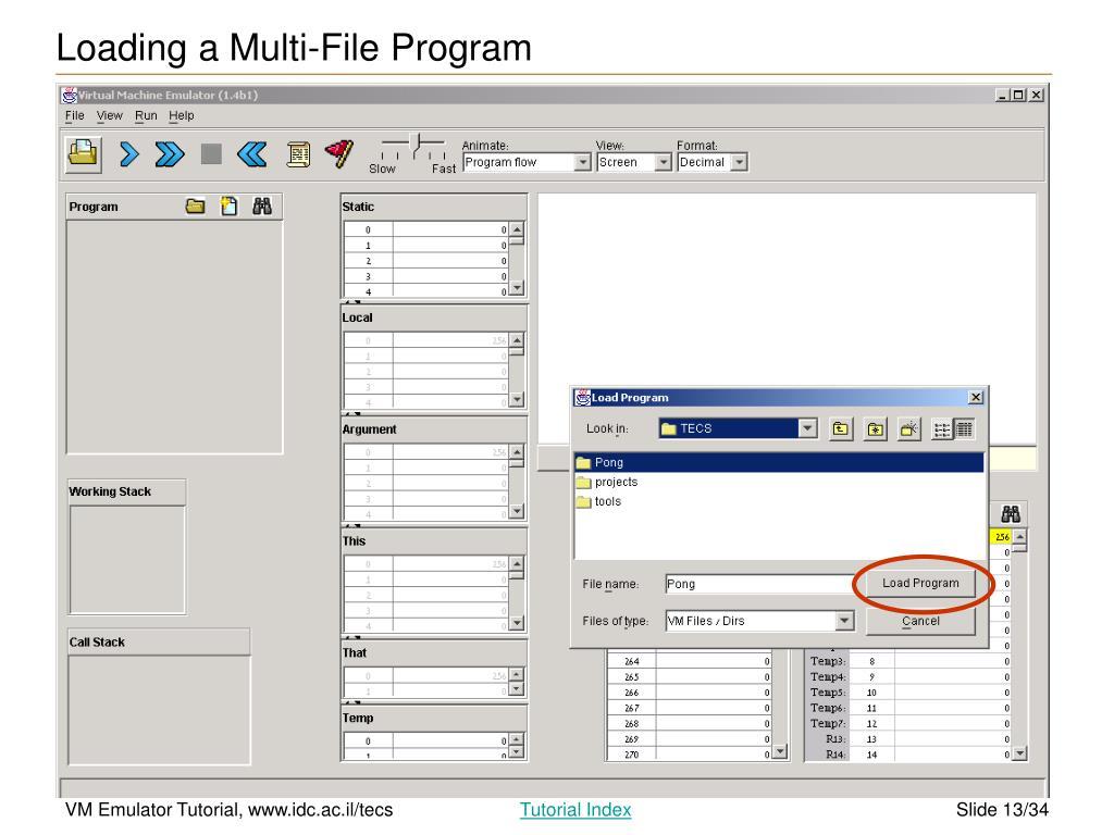 PPT - VM Emulator Tutorial PowerPoint Presentation - ID:4942861