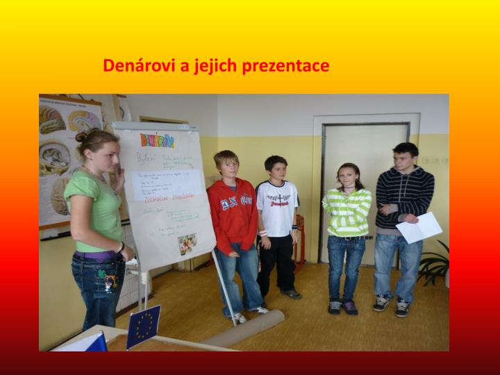 Denárovi a jejich prezentace