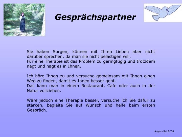 Gespr chspartner