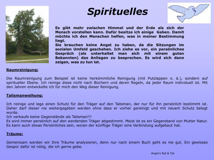 Spirituelles