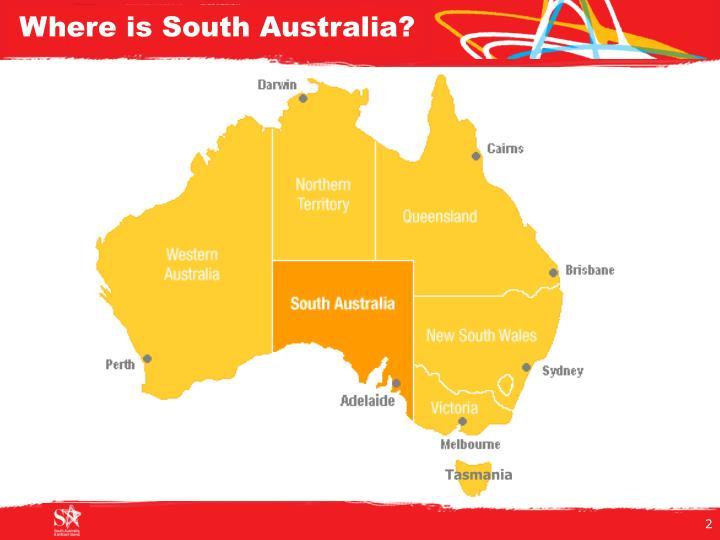 Where is south australia