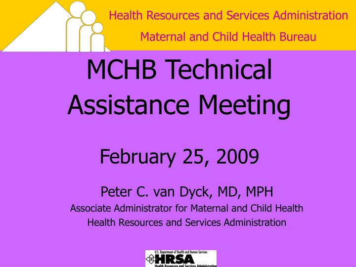 mchb technical assistance meeting february 25 2009 n.