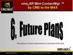 cms 2 ar mini contactmgr by cms to the max6