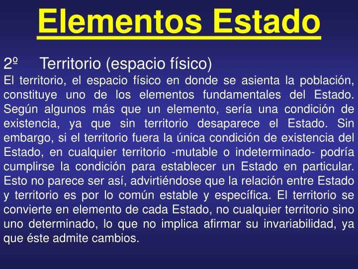 Elementos Estado