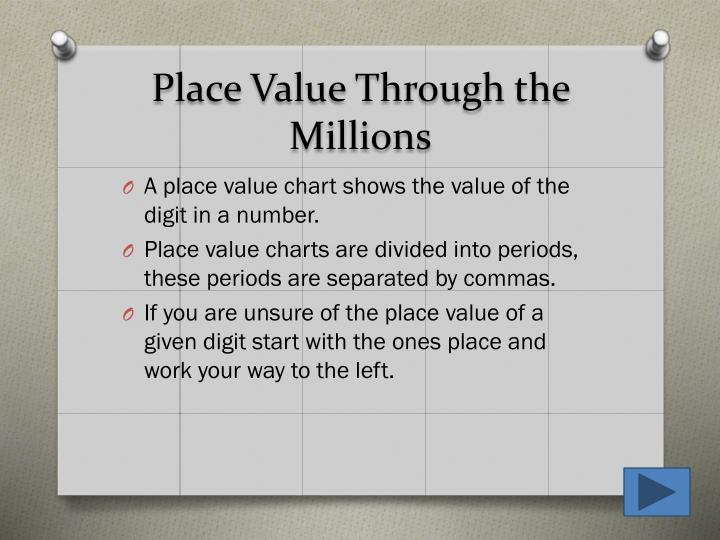 Ppt Chapter 1 2 Place Value Powerpoint Presentation Id4944393