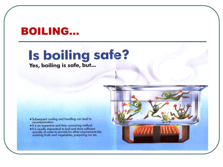 BOILING…