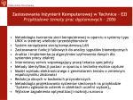zastosowania in ynierii komputerowej w technice ezi przyk adowe tematy prac dyplomowych 2006